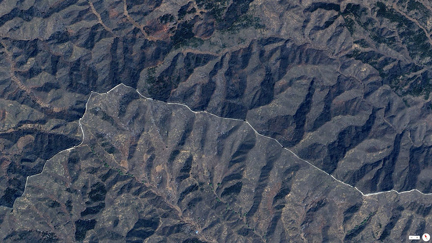 The great wall of China, northern China