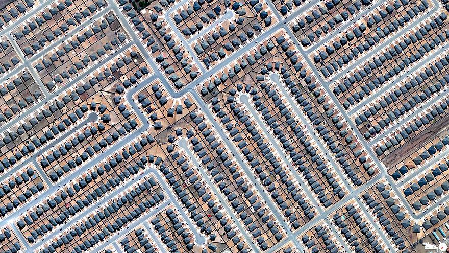 Residential development, Killeen, Texas, USA